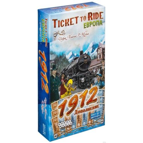 Ticket to Ride: Європа 1912