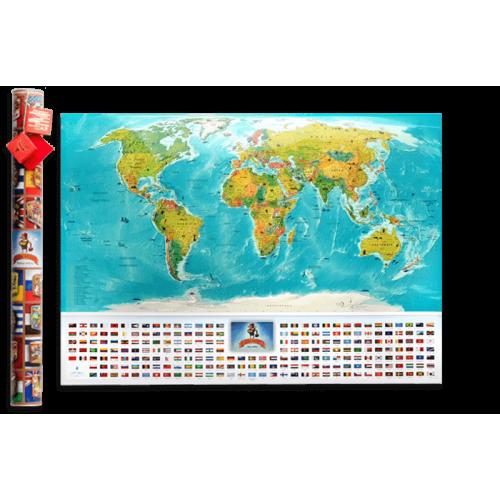 Скретч карта My Map Flags edition (UKR)