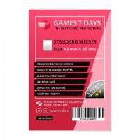 Протектори для карт Games 7 Days 43x65 мм (100 шт)