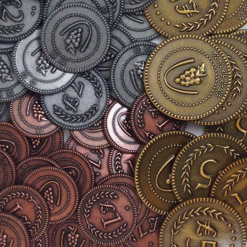 Виноробство: Металеві Монети (Metal Coins)