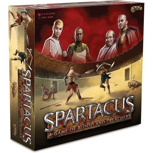 Spartacus: A Game of Blood & Treachery (2nd edition)