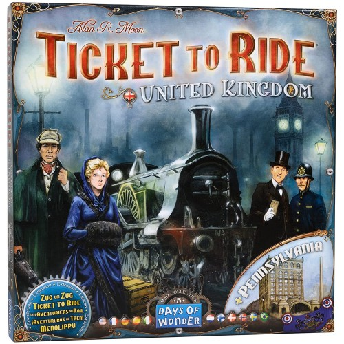 Ticket to Ride: United Kingdom Map Collection