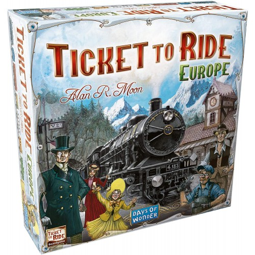 Ticket to Ride: Europe EN